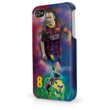 FC Barcelona Andrés Iniesta kryt na iPhone 5 / iPhone 5S - SKLADOM