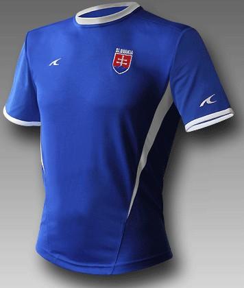 d4421ee8e75dc Futbalový dres Slovensko - replika, modrý + vlastné meno a číslo