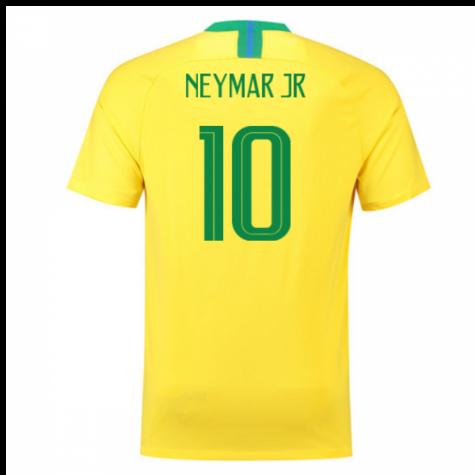 62a431d10 Futbalové kluby (všetky) | Nike Brazília NEYMAR dres detský (2018 ...