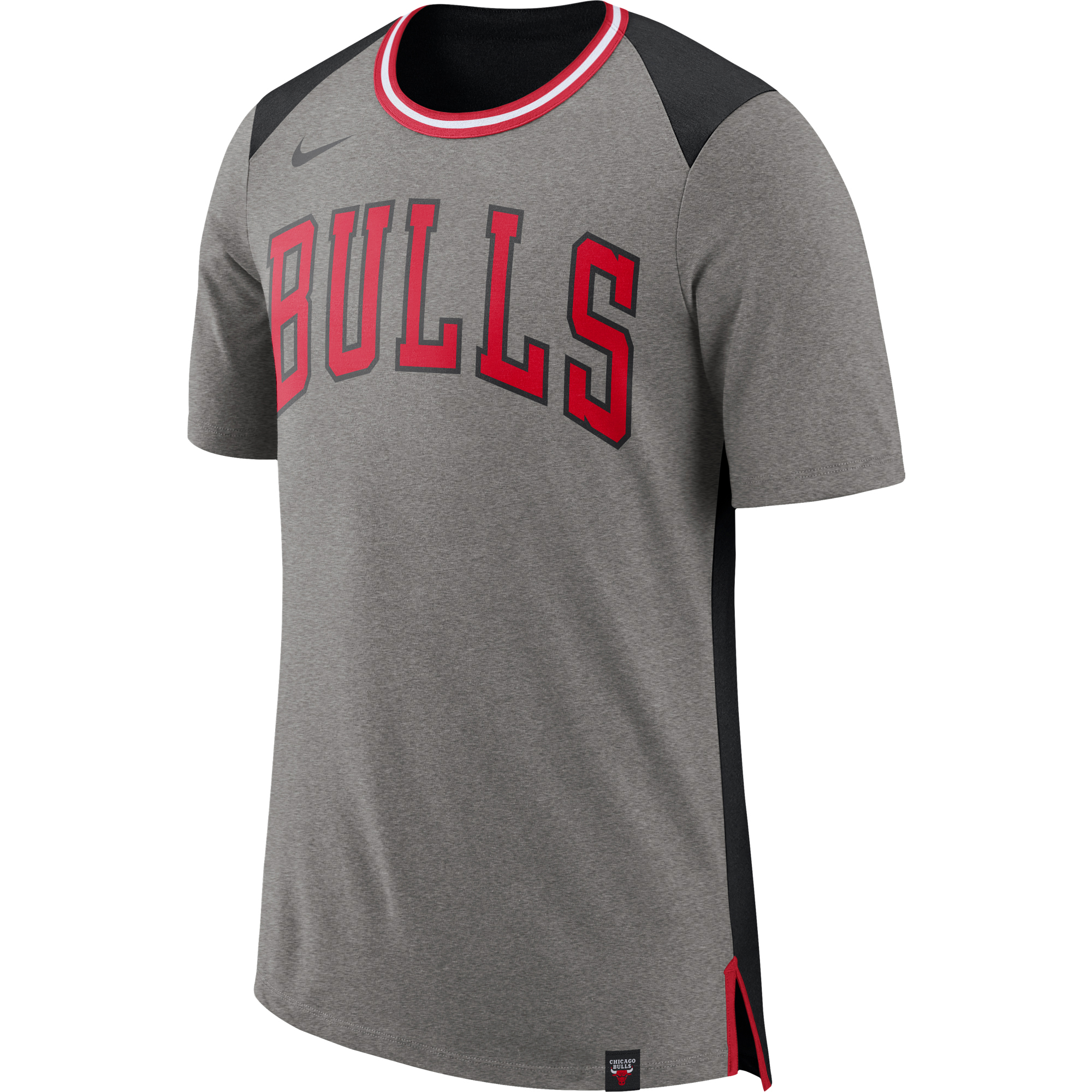 4e90787e968b Nike Chicago Bulls tričko šedé pánske