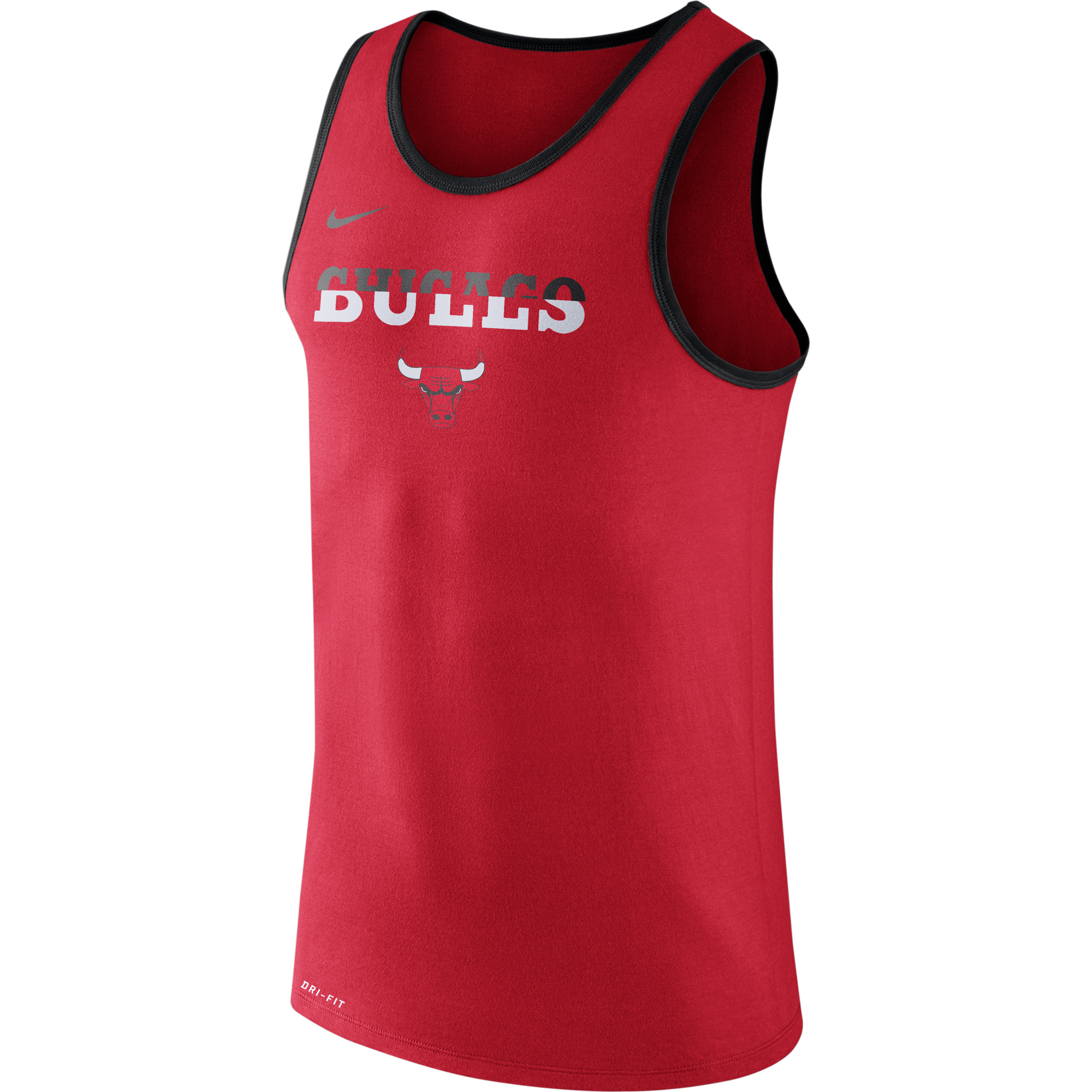 9b44ce61a Basketbalové kluby (všetky) | Nike Chicago Bulls tréningové tielko ...