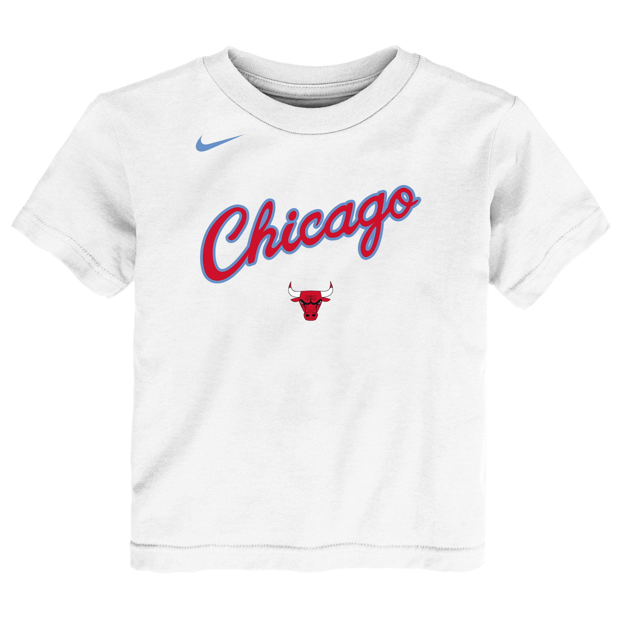 b9ff8ea95abfe NBA kluby | Nike Chicago Bulls tričko biele detské | SportFan.sk ...