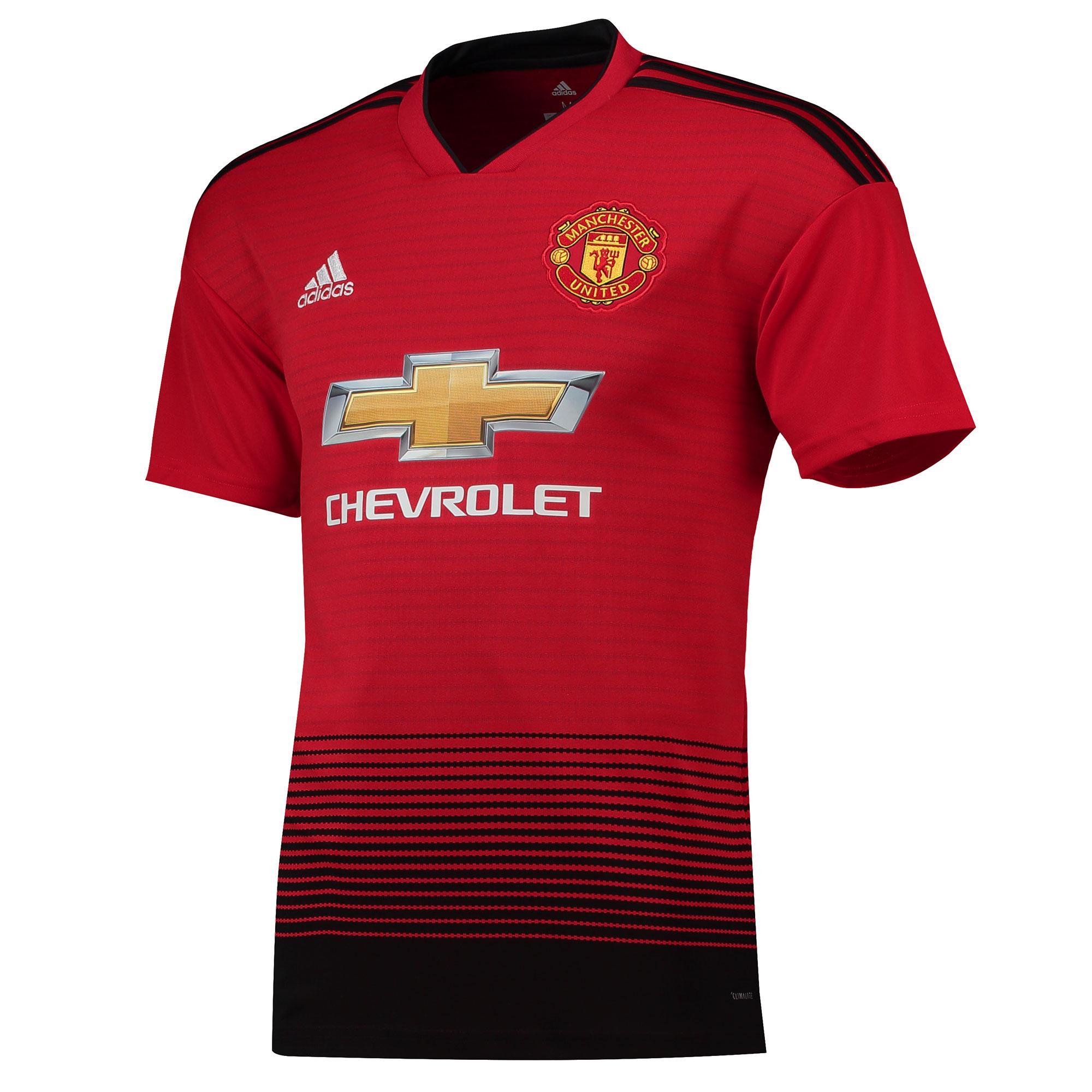 1c84692d67ed9 Adidas Manchester United dres pánsky (2018-2019) domáci + meno a číslo -  SKLADOM