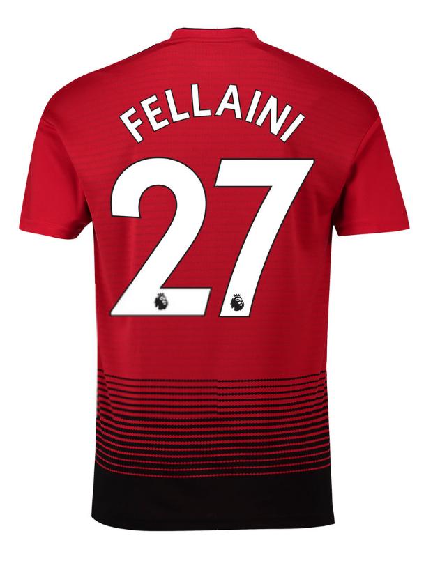 fa2c672cfbdff Futbalové kluby (všetky)   Adidas Manchester United FELLAINI dres ...
