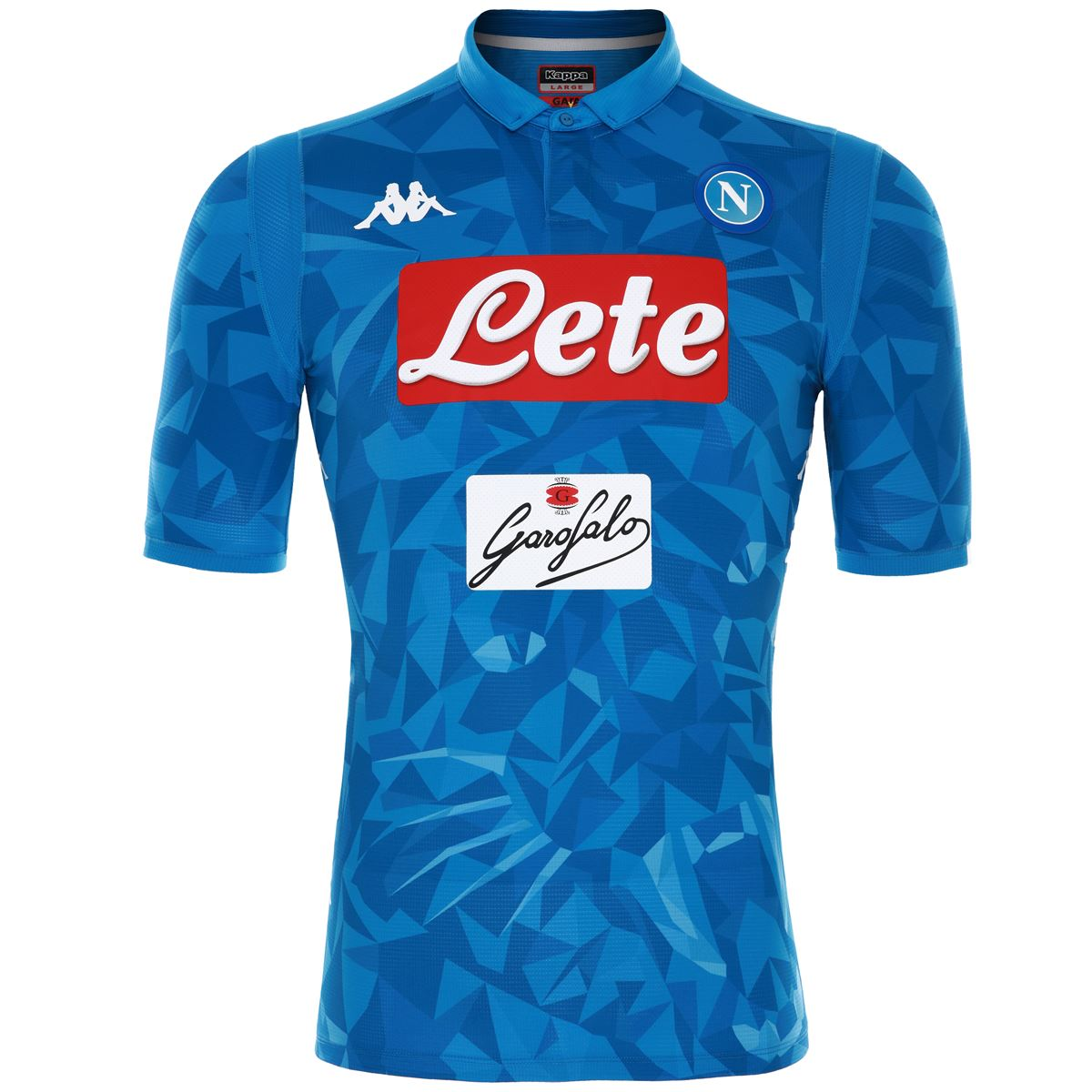 be09e6586319c Futbalové kluby (všetky) | Kappa SSC Neapol zápasový dres pánsky ...