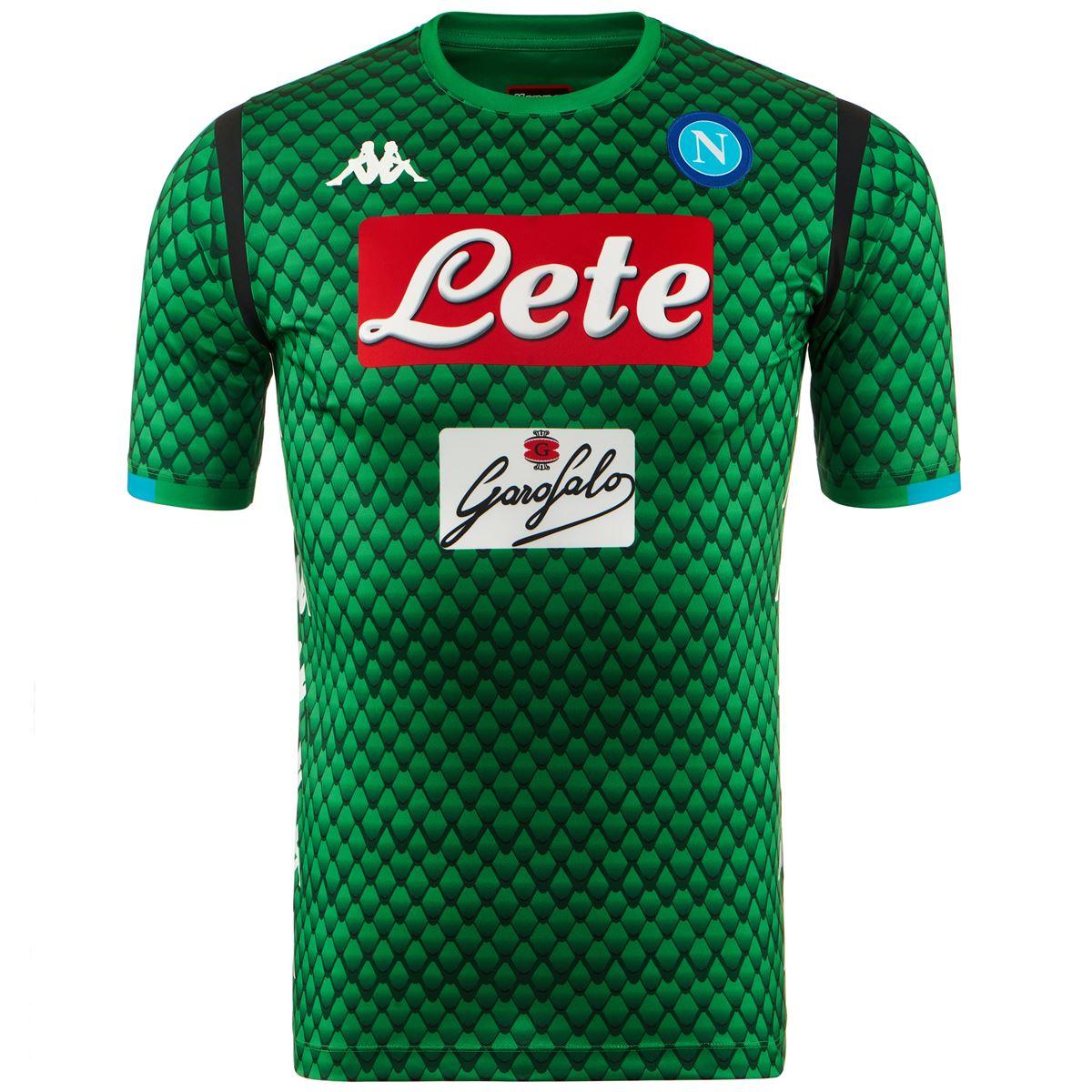 c53b63e4da46f Futbalové kluby (všetky) | Kappa SSC Neapol brankársky dres pánsky ...