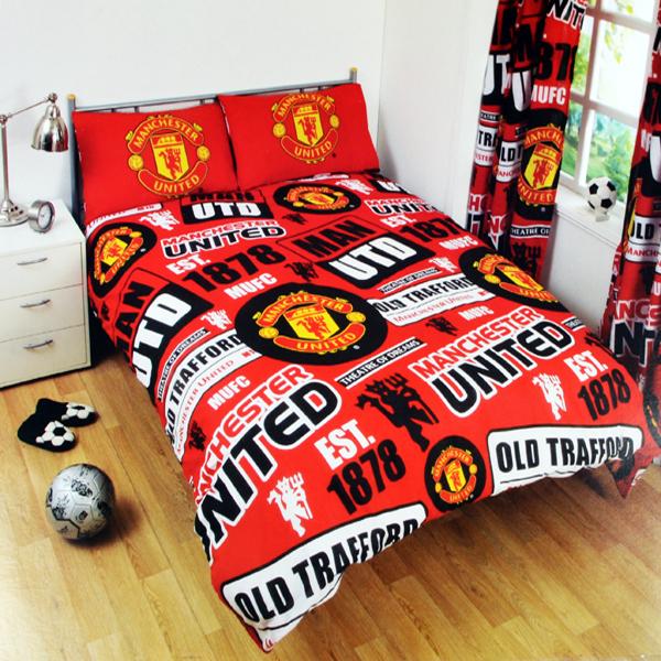 e4de3939f Futbalové kluby (všetky) | Manchester United posteľné návliečky ...