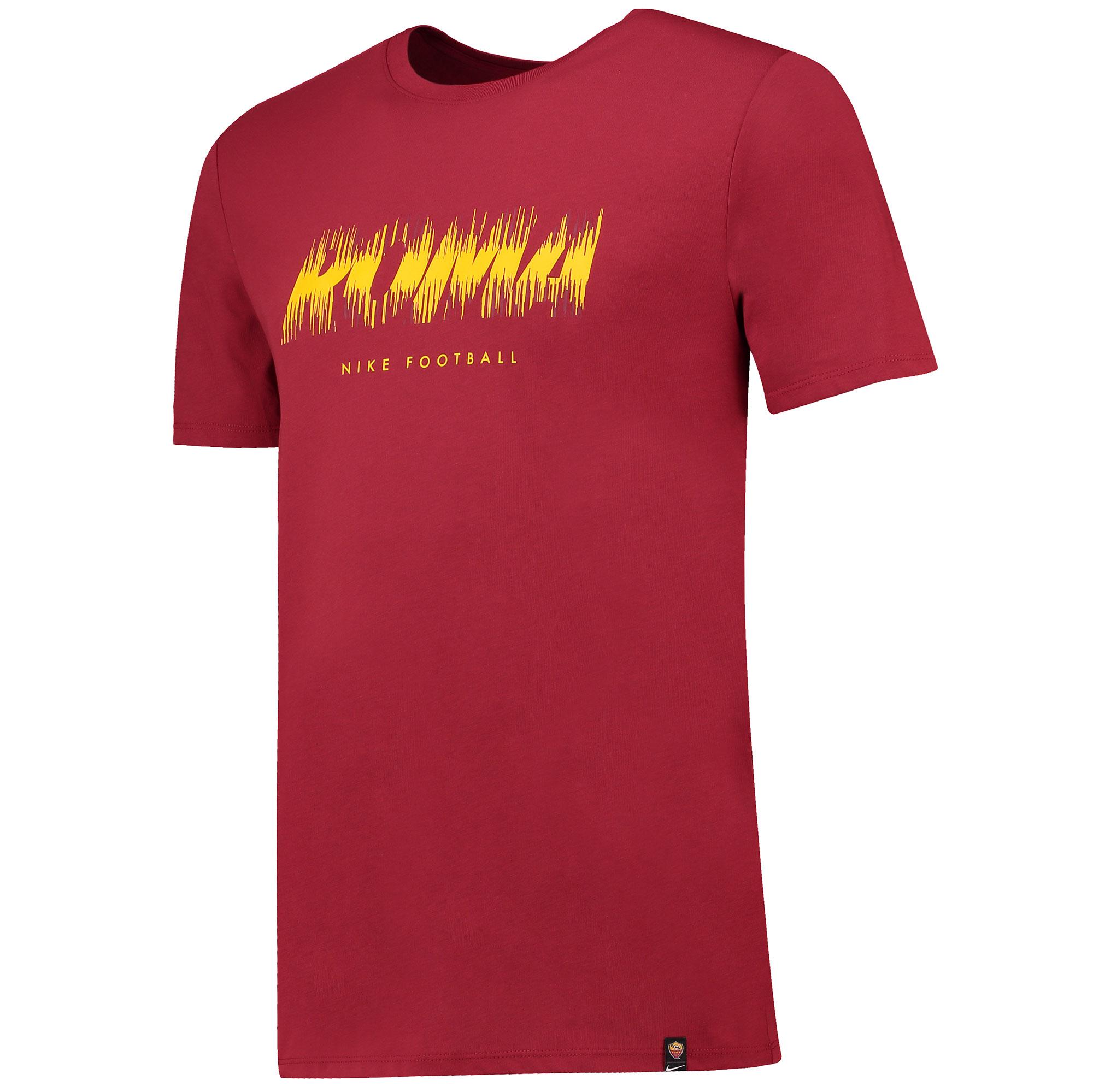 a09ee163bbba Nike AS Rím - AS Roma tričko červené pánske