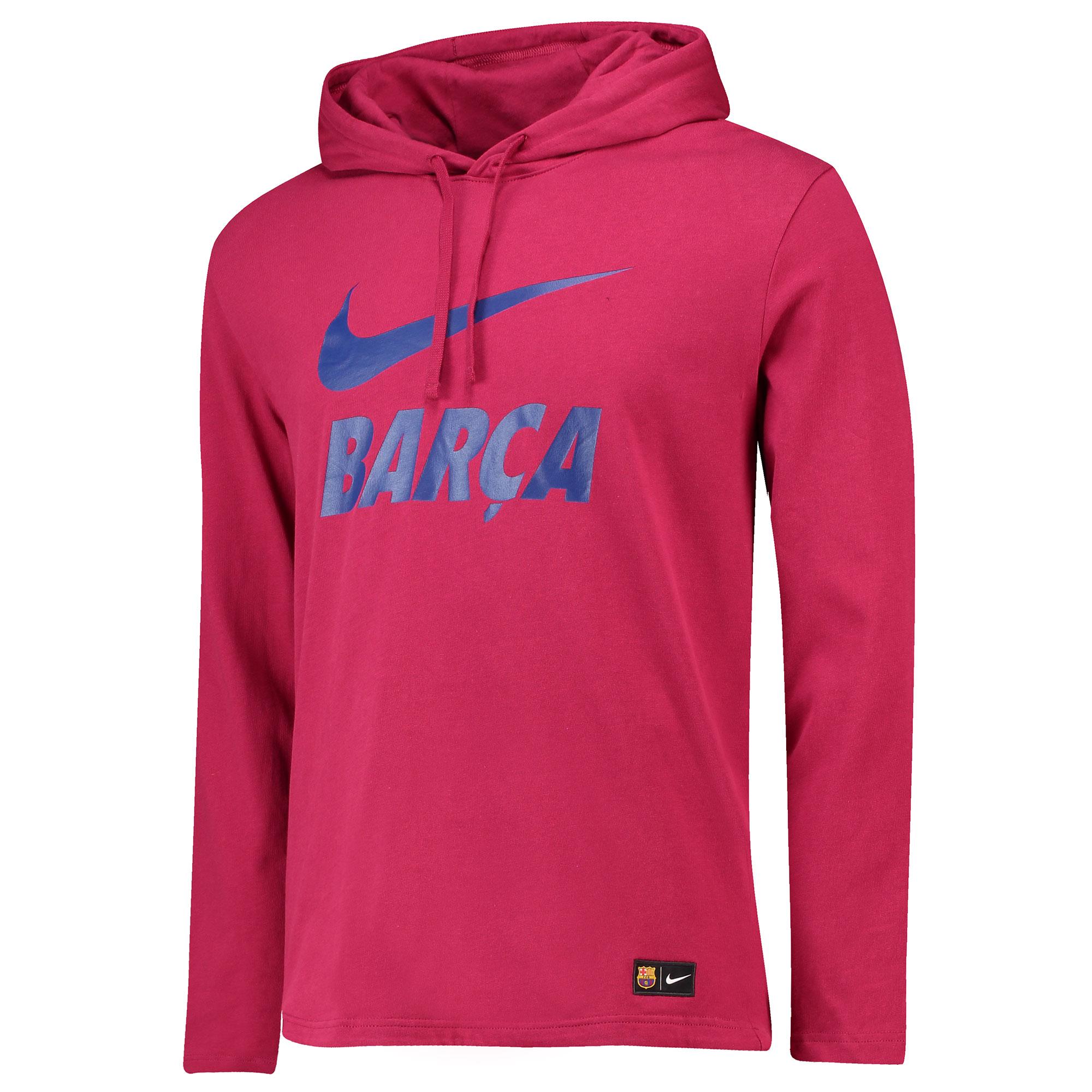 Nike FC Barcelona mikina červená pánska 4ac06b06240
