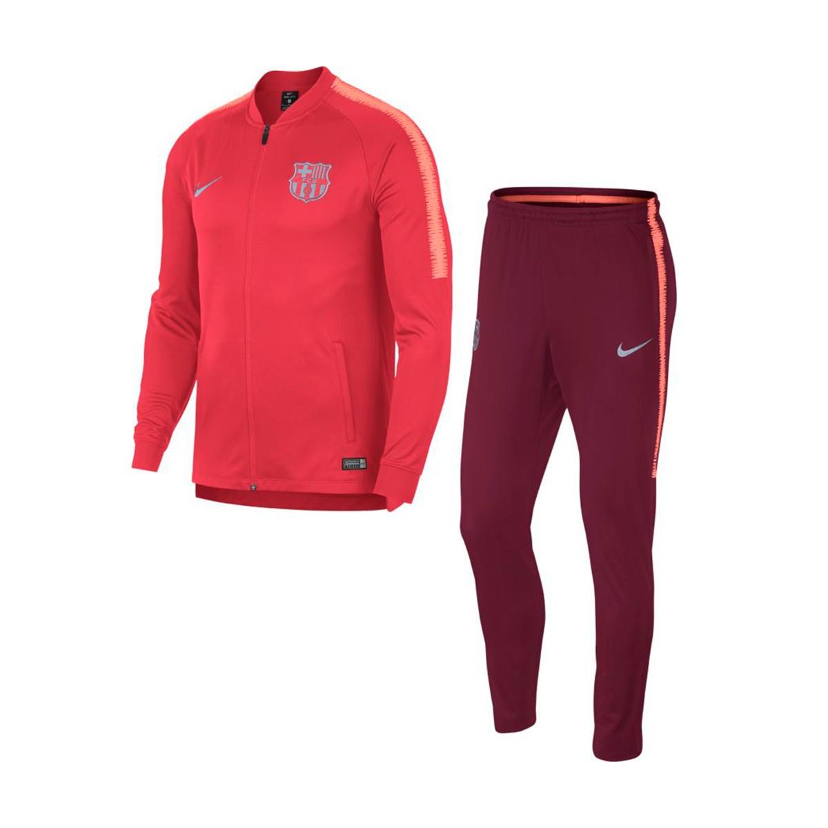 dfdcc4d1e413b Nike FC Barcelona súprava (bunda + nohavice) červená pánska 2018-2019