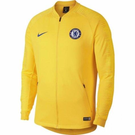 353ee90a8 Futbalové kluby (všetky)   Nike Chelsea mikina / bunda žltá detská ...