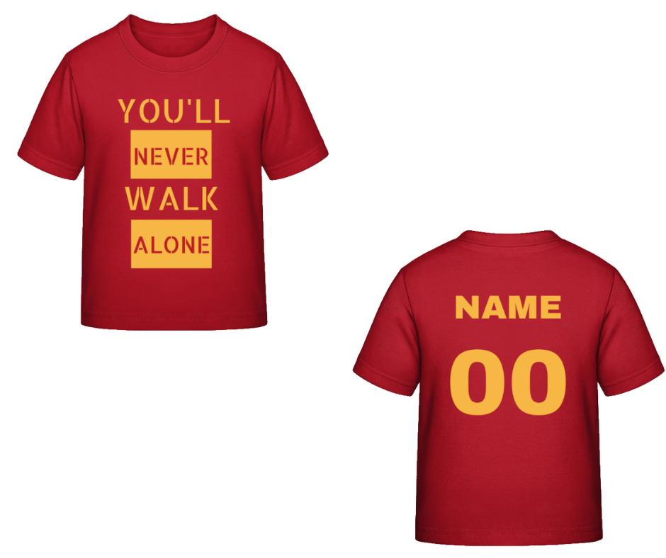 929b08abff37 Liverpool FC tričko červené detské s vlastným menom a číslom