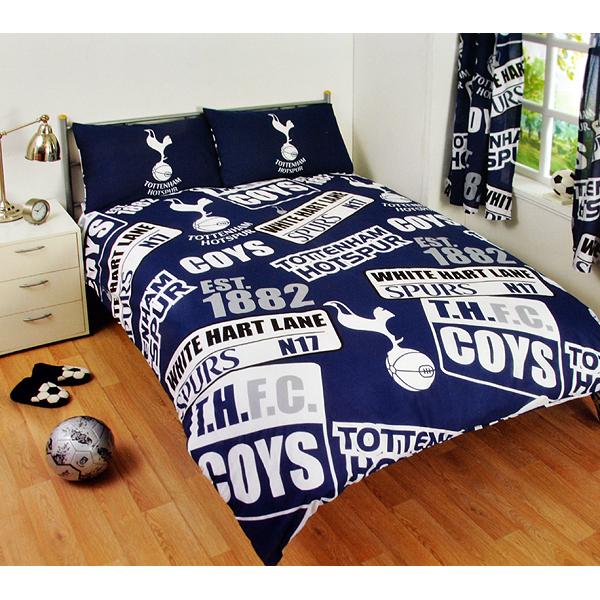 71fcd7f99 Futbalové kluby (všetky) | Tottenham Hotspur posteľné obliečky pre ...