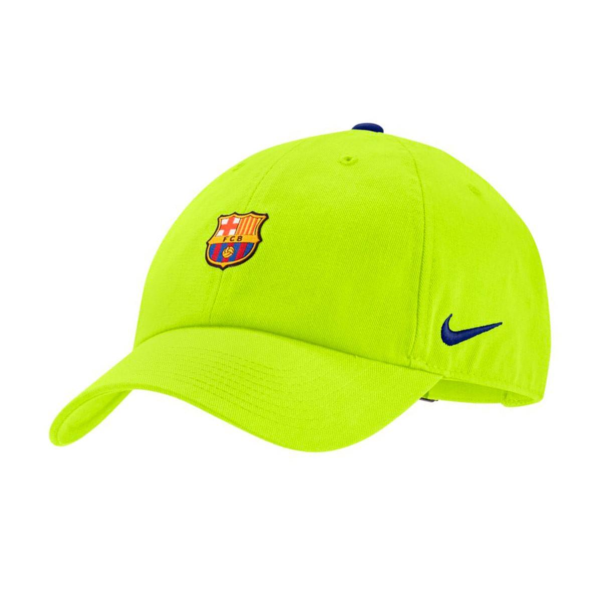 805077d59 Futbalové kluby (všetky) | Nike FC Barcelona šiltovka zelená ...