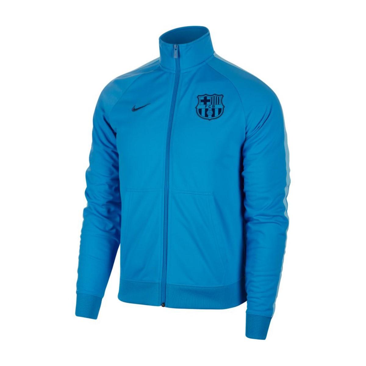 faffd6f843ce3 Futbalové kluby (všetky) | Nike FC Barcelona mikina bunda modrá ...