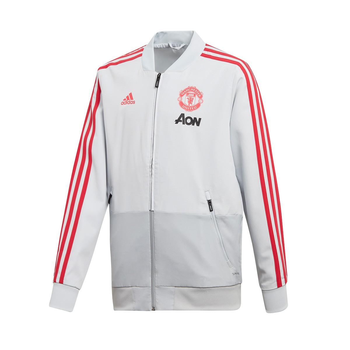 49495508b Futbalové kluby (všetky)   Adidas Manchester United mikina / bunda ...