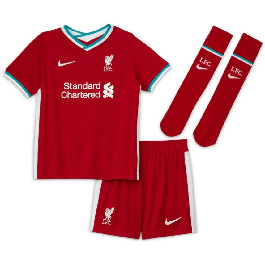 Futbalové kluby (všetky) | Nike Liverpool FC set detský ...