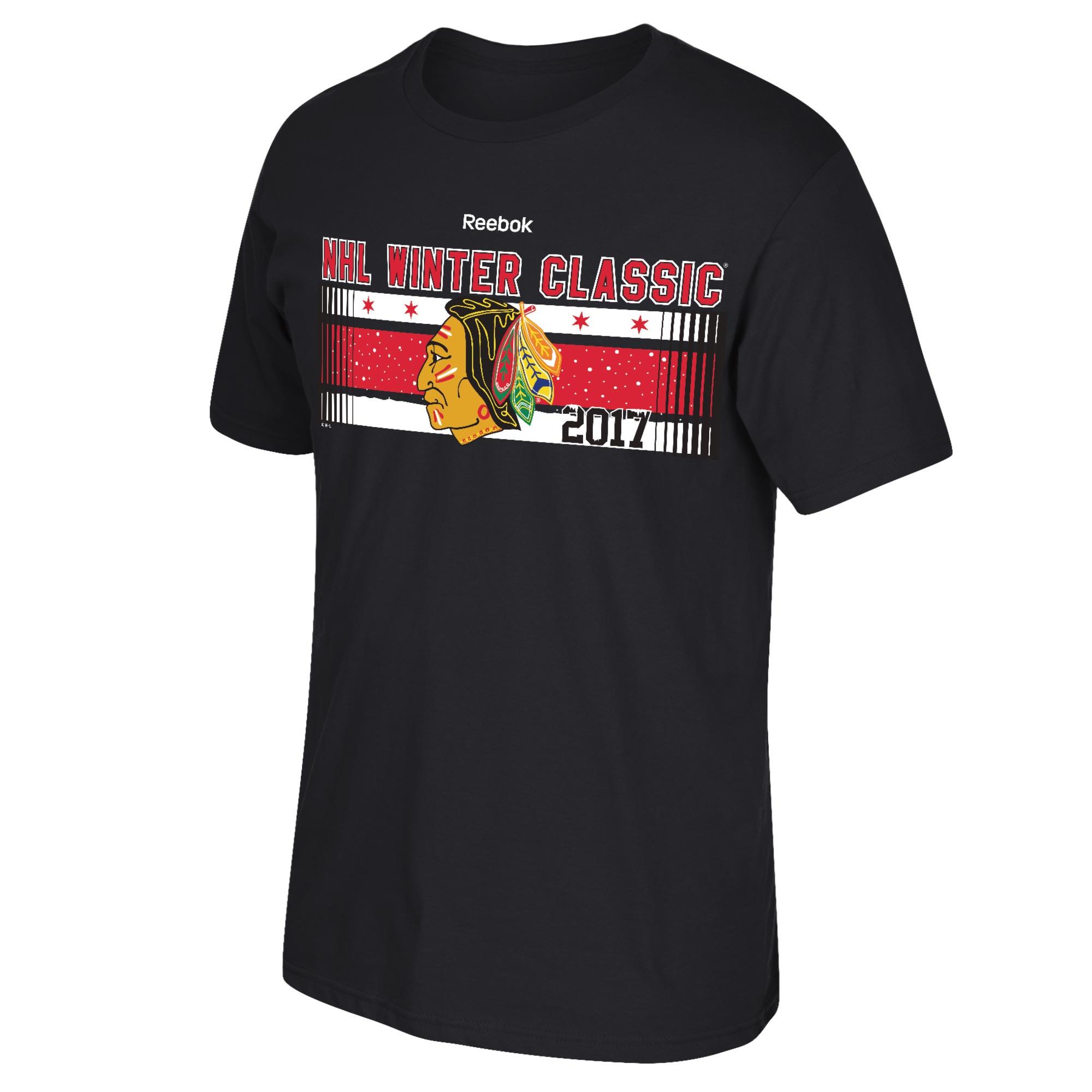 5dd4d2111bc Reebok Chicago Blackhawks Winter Classic 2017 tričko