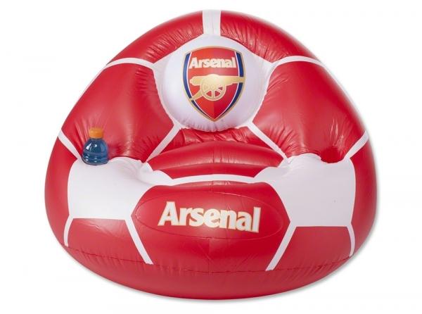 Arsenal nafukovacie kreslo detské