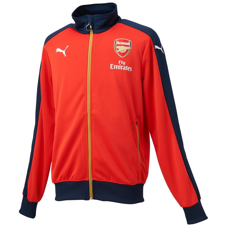 70f4a20a32376 Futbalové kluby (všetky) | Puma Arsenal mikina červená pánska ...