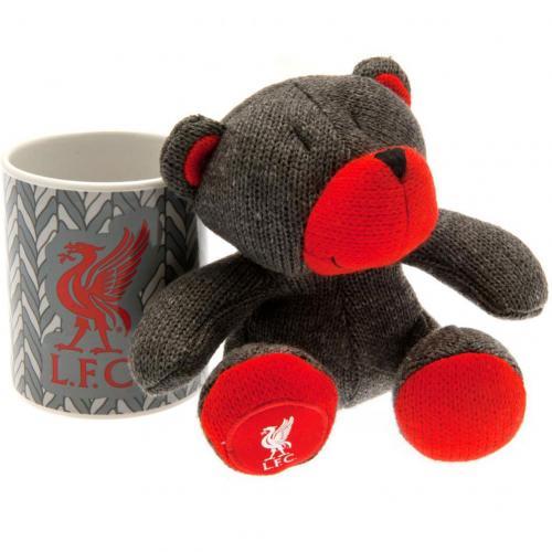 Liverpool plyšový medveď a hrnček