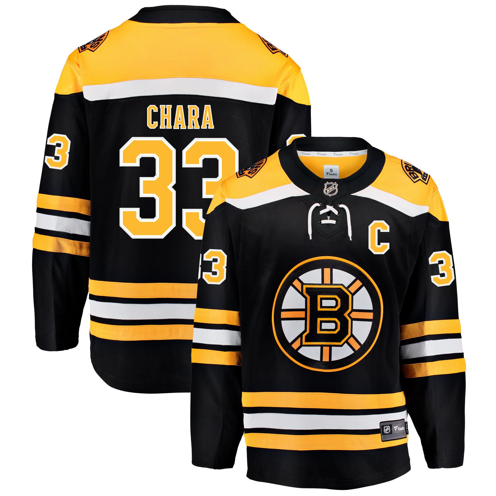 ae402690f2fab Hokejové kluby (všetky)   Boston Bruins Zdeno Chára Breakaway dres ...