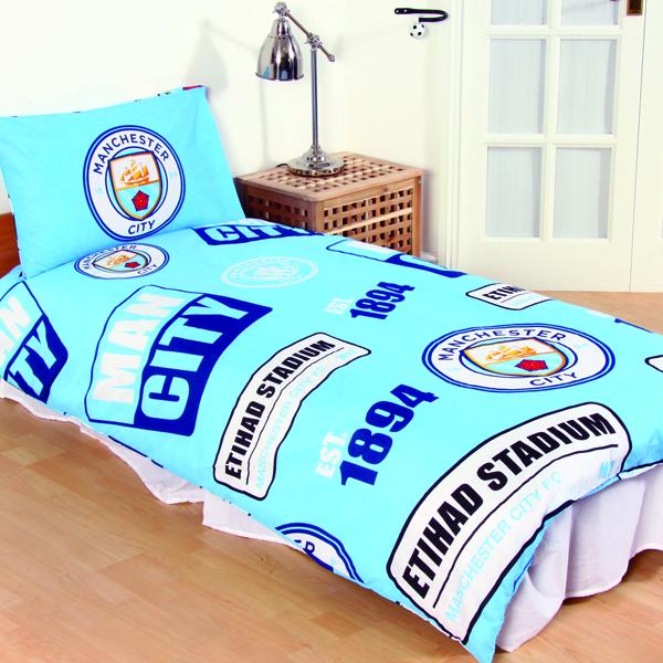 0cefb0a76 Futbalové kluby (všetky) | Manchester City obliečky pre jednu posteľ ...