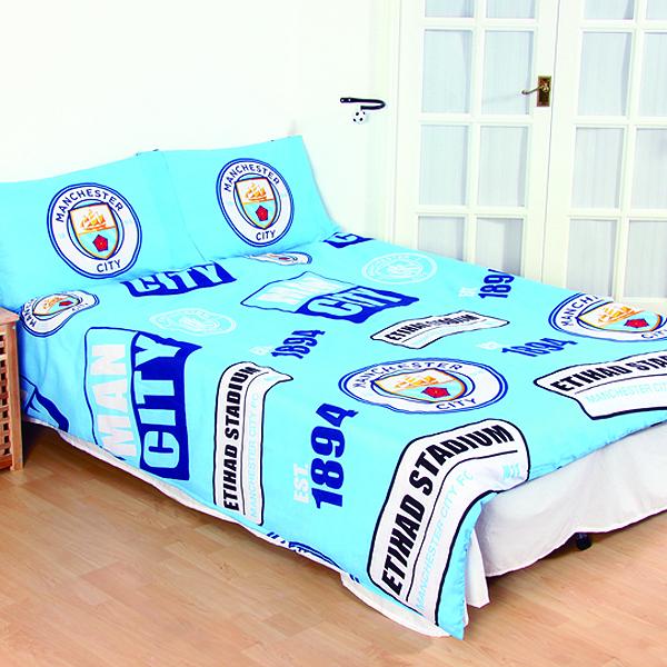 36cdd461d Futbalové kluby (všetky) | Manchester City posteľné návliečky pre ...