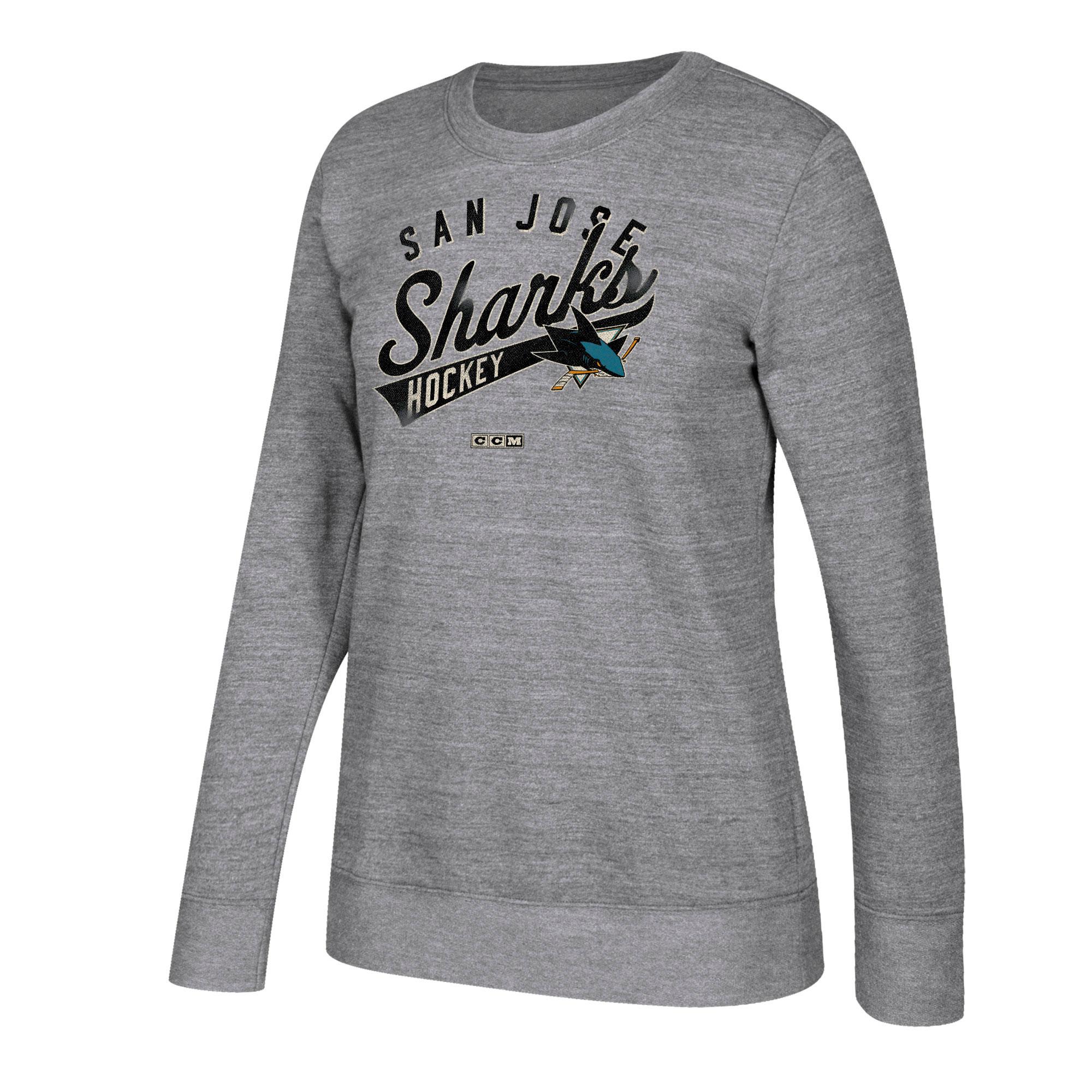 a15c6151cb39 CCM San Jose Sharks tričko s dlhým rukávom dámske