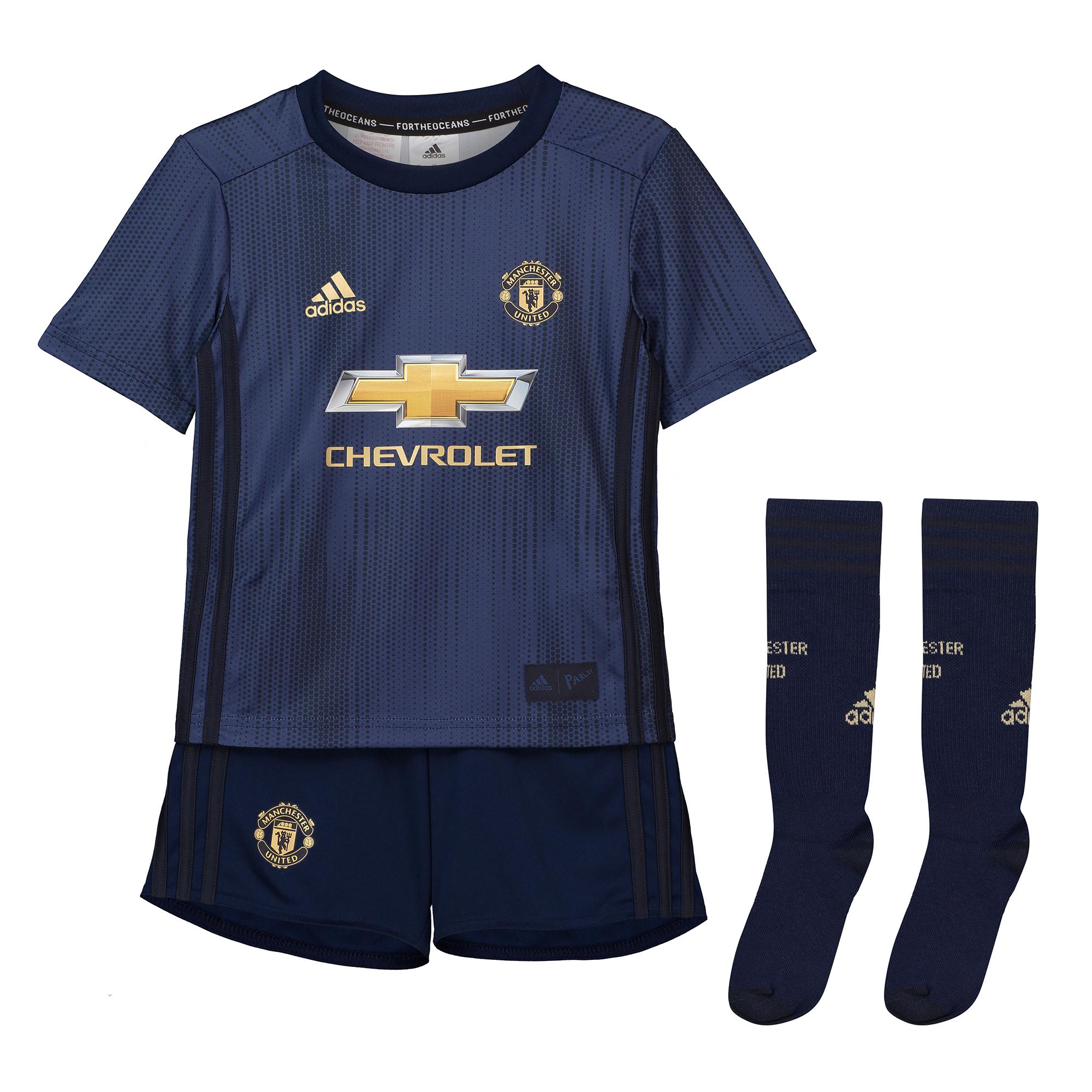 bcf0e43830ce1 Adidas Manchester United set detský (2018-2019), alternatívny + vl. meno a  číslo
