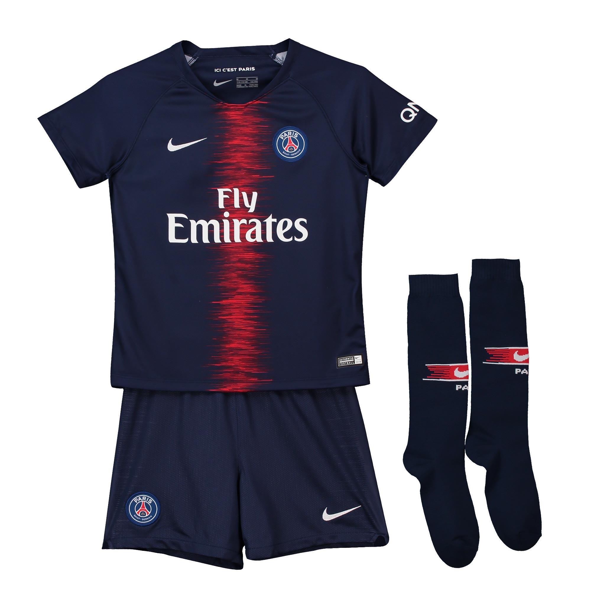 3b0b4249dca10 Nike Paris Saint-Germain FC - PSG set detský (2018-2019), domáci - SKLADOM