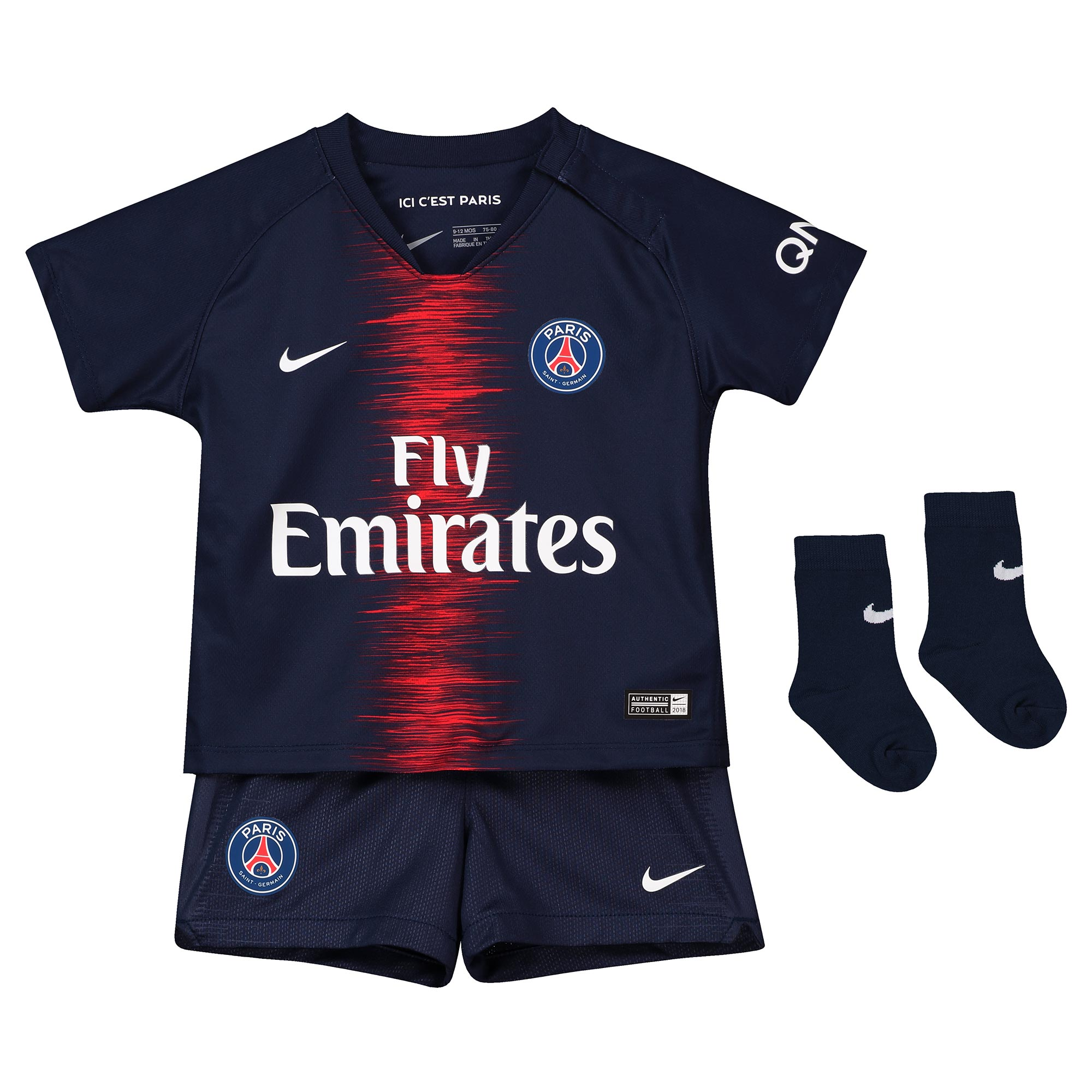 834c8281eda08 Nike Paris Saint-Germain FC - PSG set detský (2018-19), domáci (menšie  veľkostí)