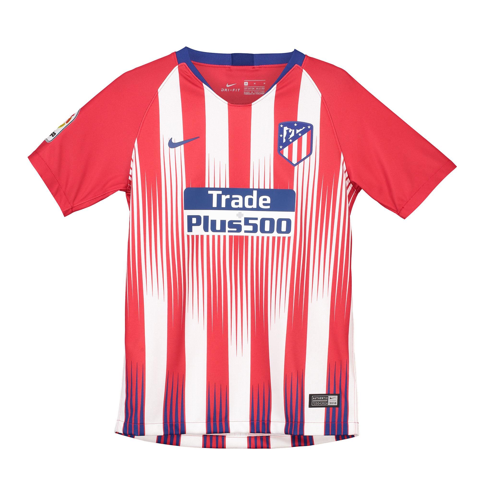 cd7b0f15c89ba Nike Atlético Madrid dres detský (2018-2019) domáci + vl. meno a číslo -  SKLADOM