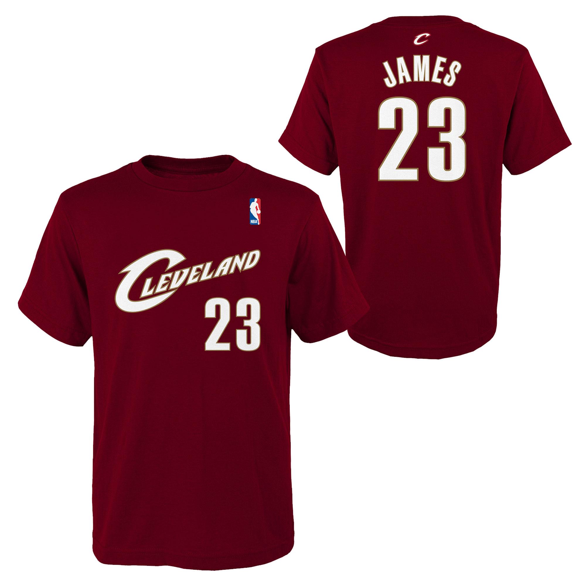 b8df70166a4ea NBA kluby | Cleveland Cavaliers LeBron James tričko bordové detské ...