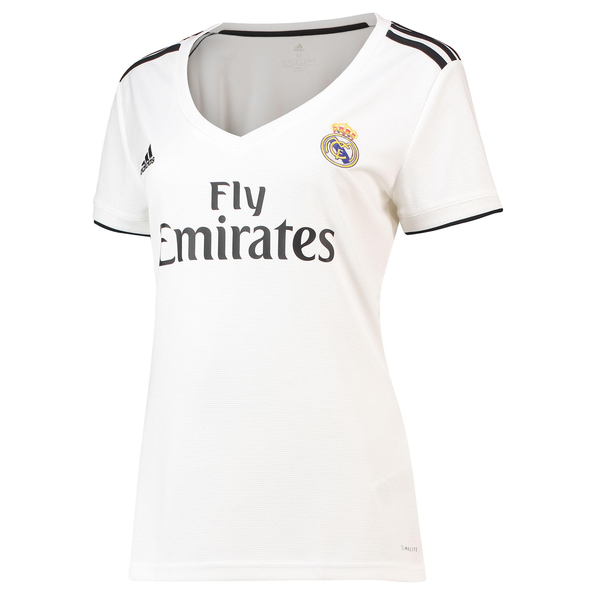 49c966c5a28e6 Adidas Real Madrid dres dámsky (2018-2019), domáci + vlastné meno a číslo