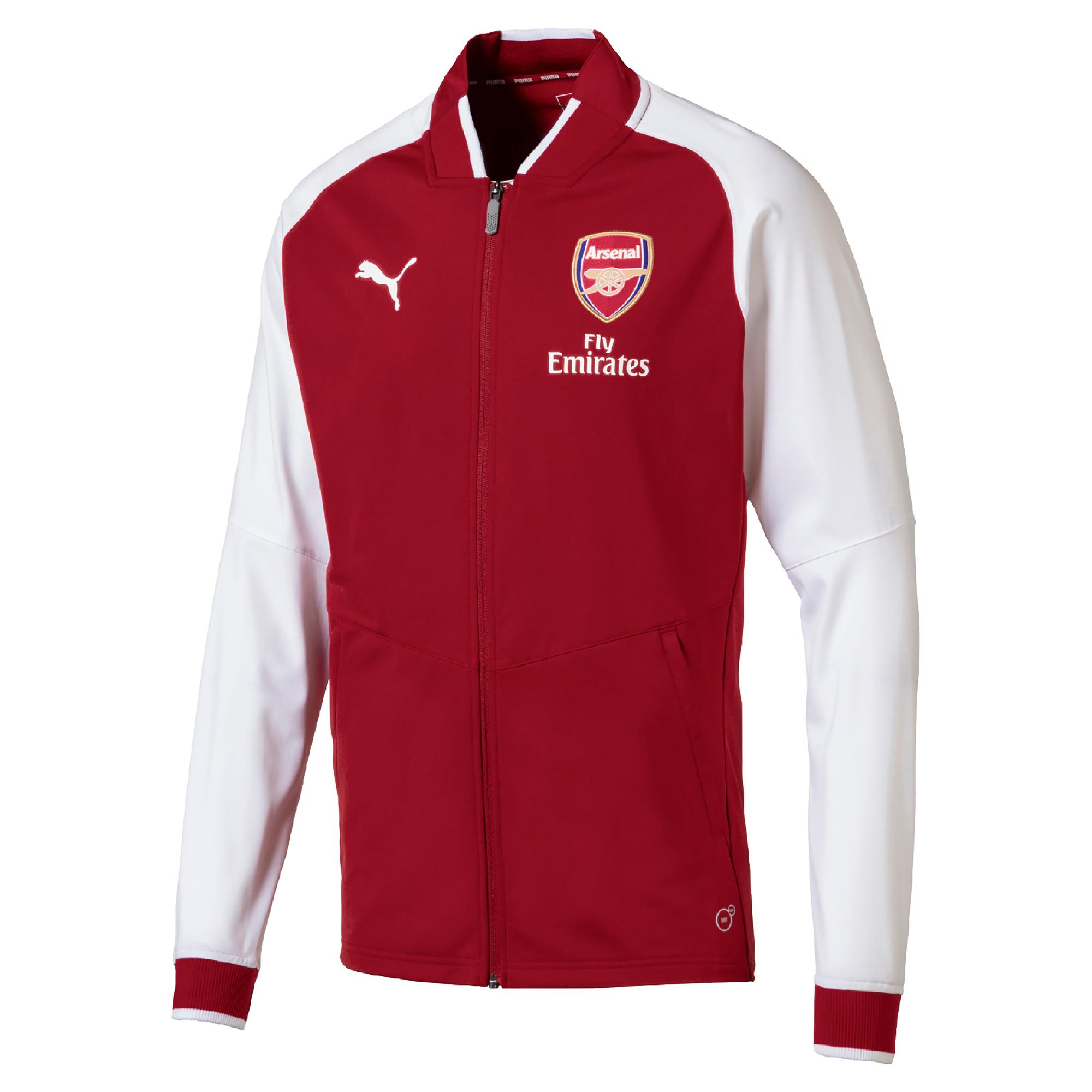 b0d74ed24bf93 Futbalové kluby (všetky) | Puma Arsenal mikina / bunda červená ...