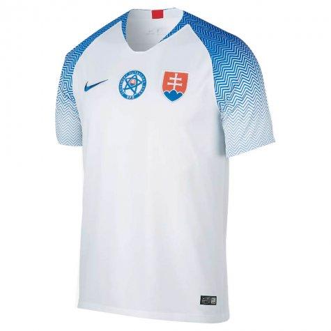 1bfb86e4a1e98 Futbalový dres Slovensko - replika, biely + vlastné meno a číslo