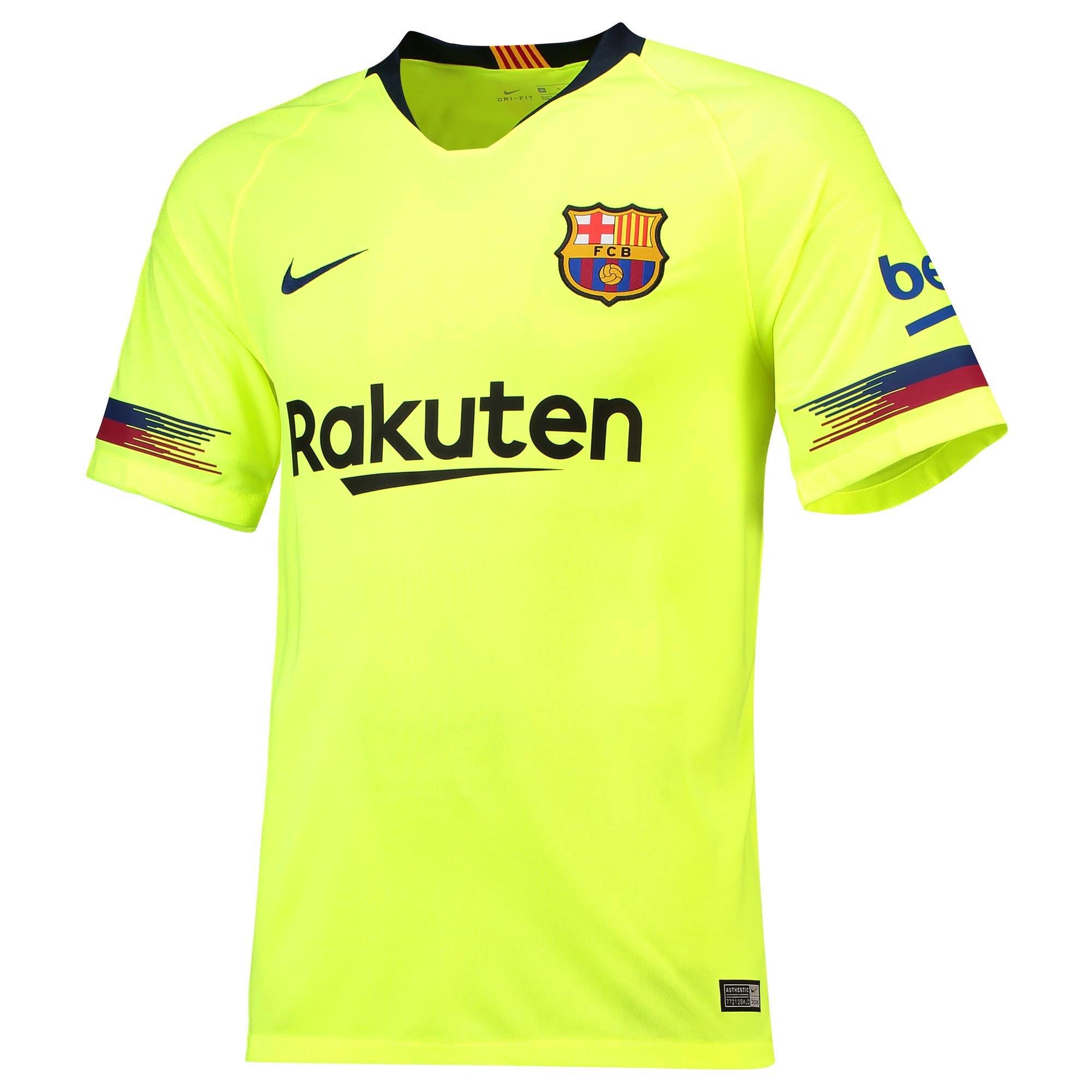 7c6d93757a25f Nike FC Barcelona dres pánsky (2018-2019), vonkajší + vlastné meno a číslo