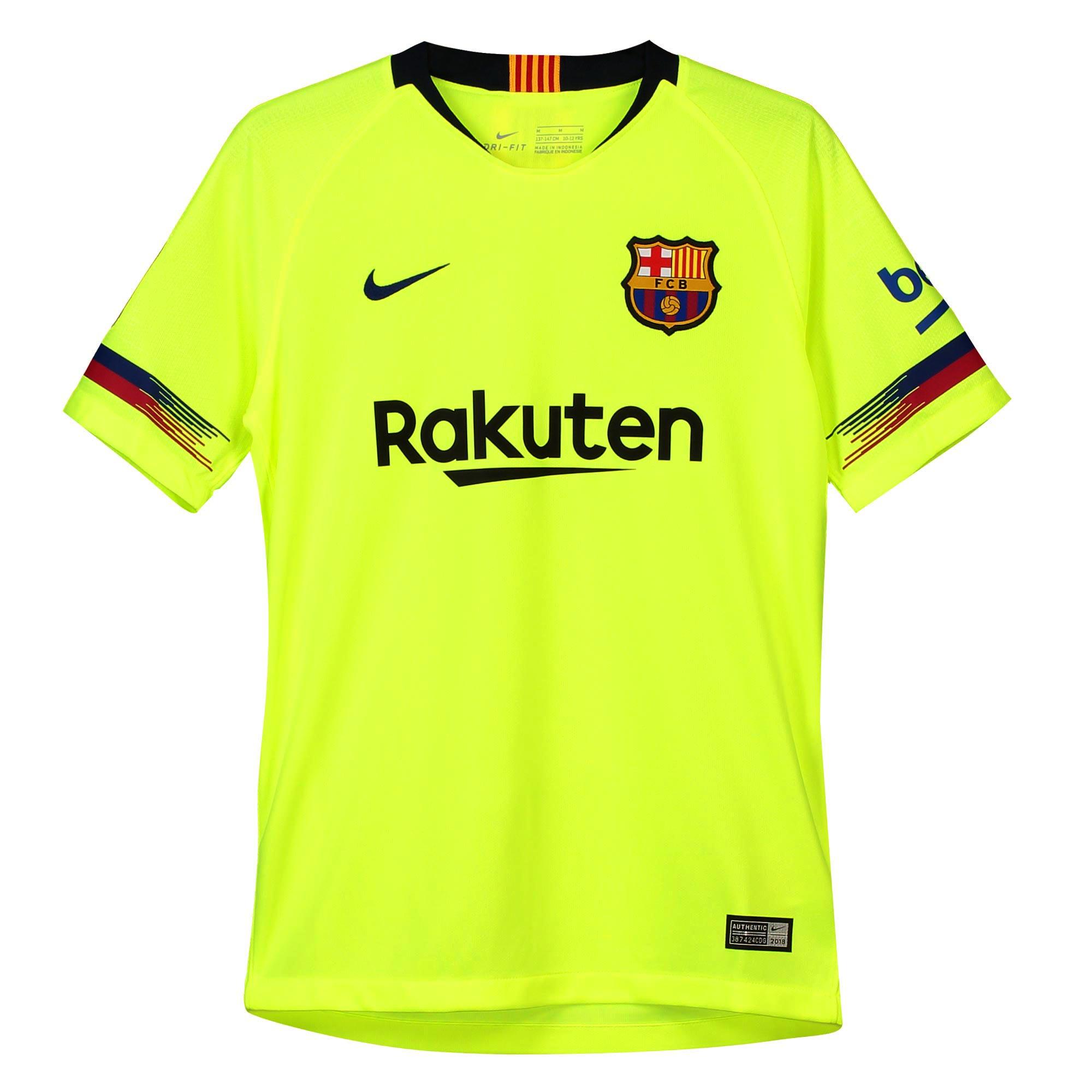 4d5a5f907420d Nike FC Barcelona dres detský (2018-2019), vonkajší + vlastné meno a číslo