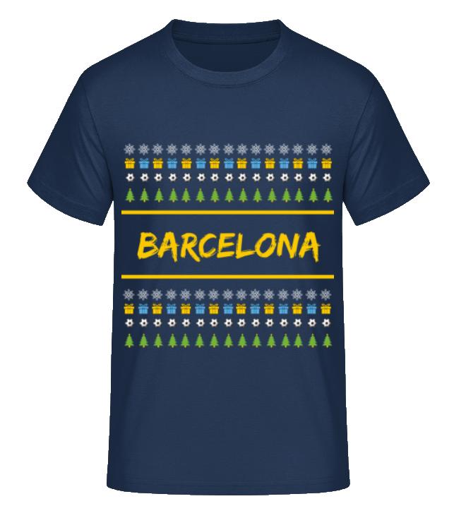1b101a2bae1db Futbalové kluby (všetky)   FC Barcelona tričko vianočné pánske s ...