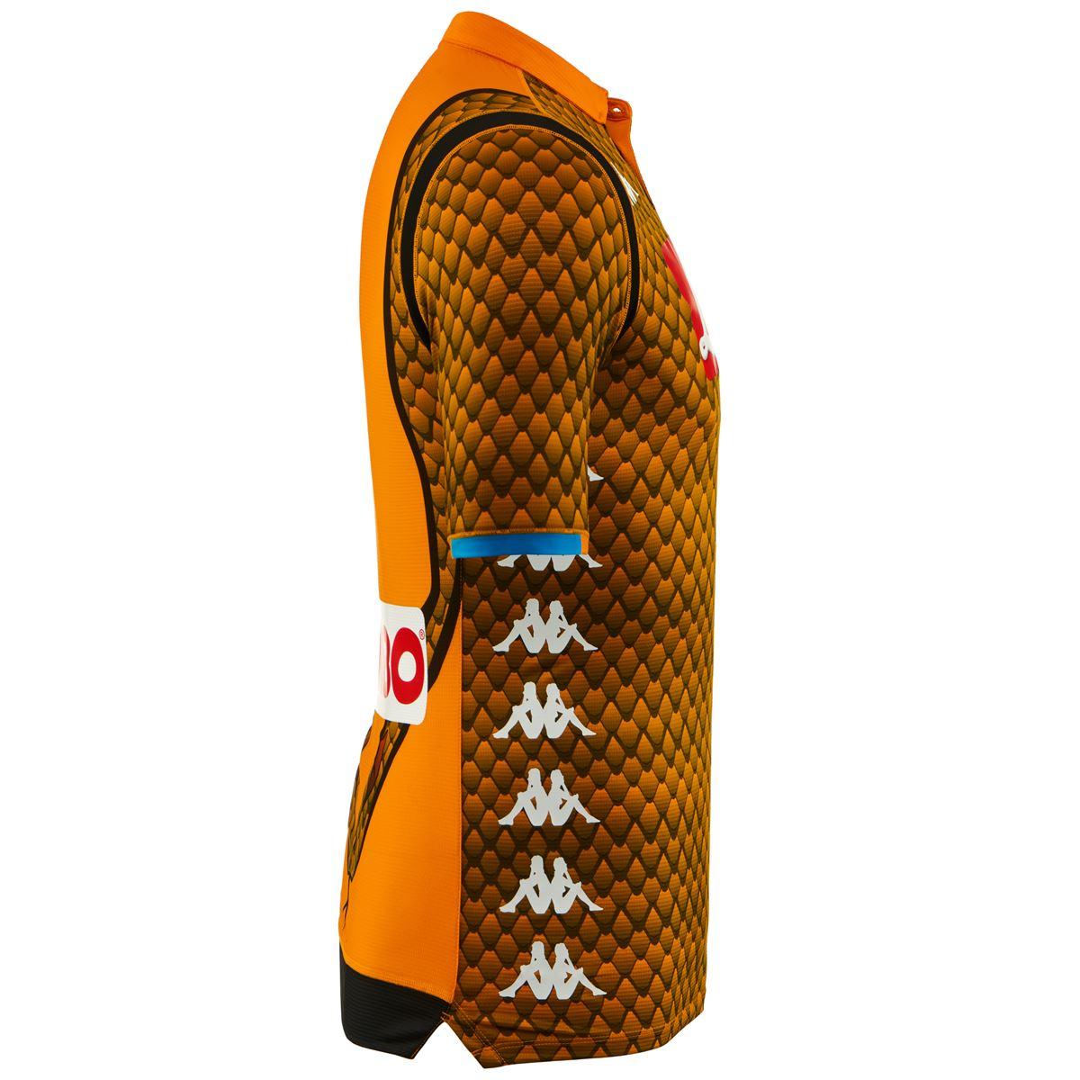 7555855a73702 Popis · Na stiahnutie · Podobný tovar. Pánsky oranžový brankársky dres SSC  Neapol ...