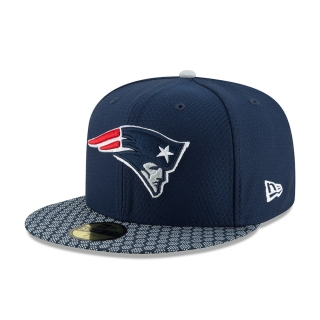 New Era 59FIFTY New England Patriots šiltovka modrá