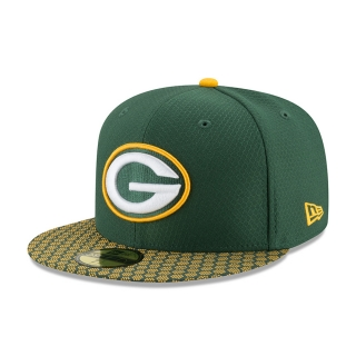 New Era 59FIFTY Green Bay Packers šiltovka zelená