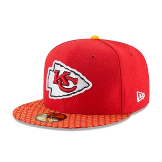 New Era 59FIFTY Kansas City Chiefs šiltovka červená