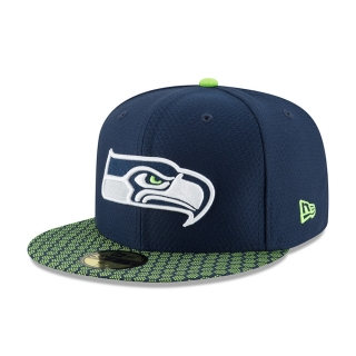 New Era 59FIFTY Seattle Seahawks šiltovka čierna