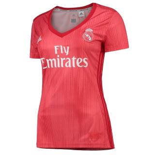84bfc4b00c90d Adidas Real Madrid dres dámsky (2018-2019), alternatívny + vlastné meno a  empty