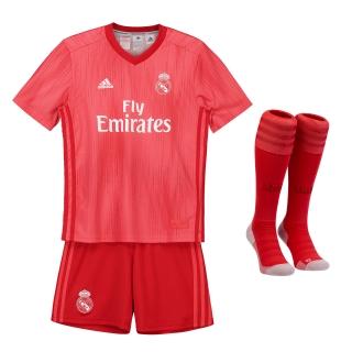 51d23583356e2 Adidas Real Madrid set detský (2018-2019), alternatívny + vlastné meno a  empty
