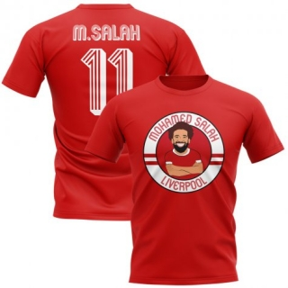 Liverpool FC Mohamed Salah tričko červené pánske empty e844d33d64