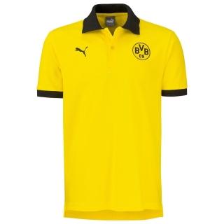 Puma Borussia Dortmund BVB 09 polokošeľa žltá pánska - SKLADOM empty e6dc1c1e5fa