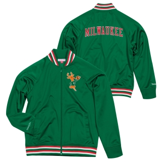 Mitchell & Ness Milwaukee Bucks bunda pánska